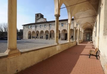 Campus umanistico dell'Università, Sede di Sant'Agostino. Fotografia, 2010